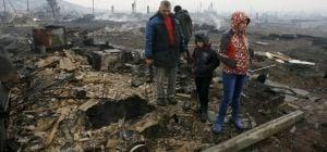 Масштабні пожежі в Росії