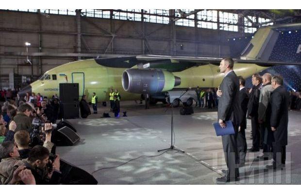 Новый транспортный самолет ан 178