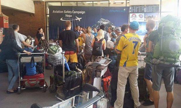 Началась эвакуация украинцев из Непала / Твиттер МИД