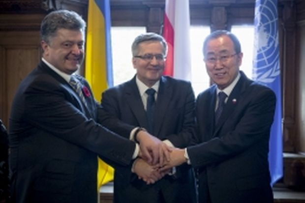 UN Secretary-General Ban Ki-moon pledges to visit Ukraine on May 8 / Photo from president.gov.ua