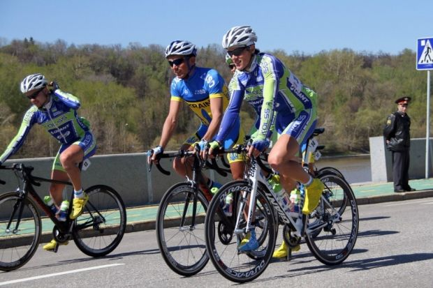 Ukrainians were among winners of Moscow May cycling competitions / Photo from m24.ru