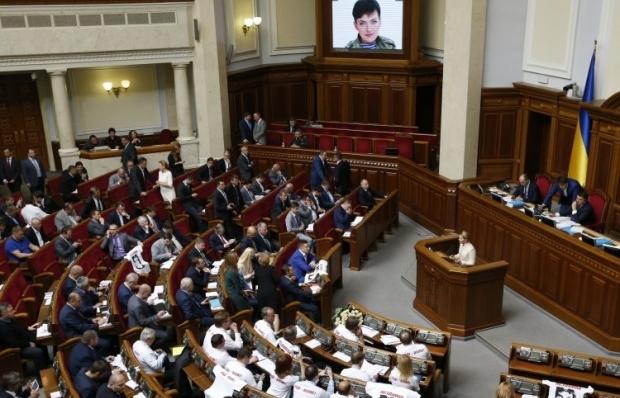 Заседание Рады 12 мая / Фото УНИАН