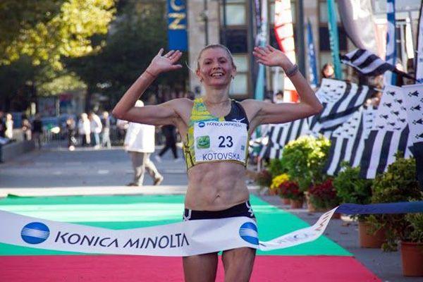 Ольга Котовская финишировала второй на марафоне в Ганновере / allrunning.com.ua