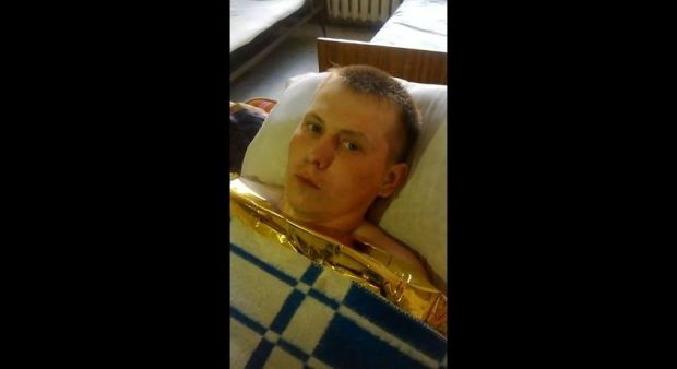 captured Russian GRU NCO Aleksandr Aleksandrov / Screenshot