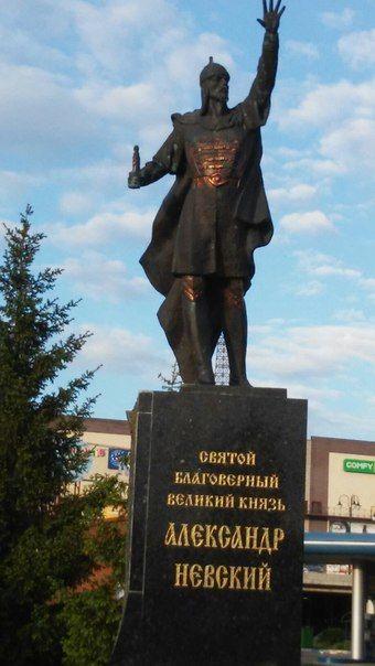 Александр Невский в Харькове лишился меча / 057