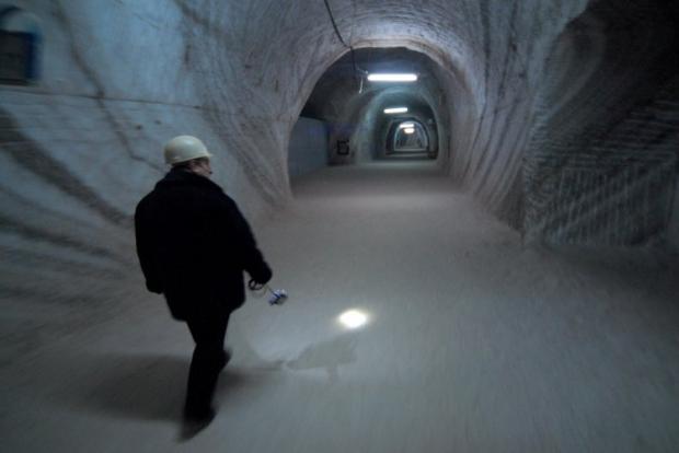 Солотвинська сіль вважається чи не найчистішою в світі / Фото УНІАН