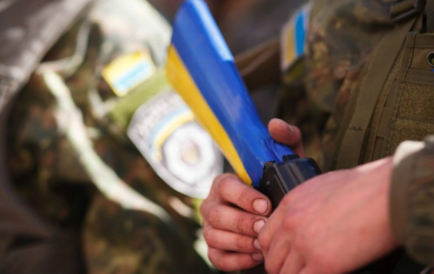 One Ukrainian soldier was killed in the ATO zone on Tuesday / Photo from UNIAN