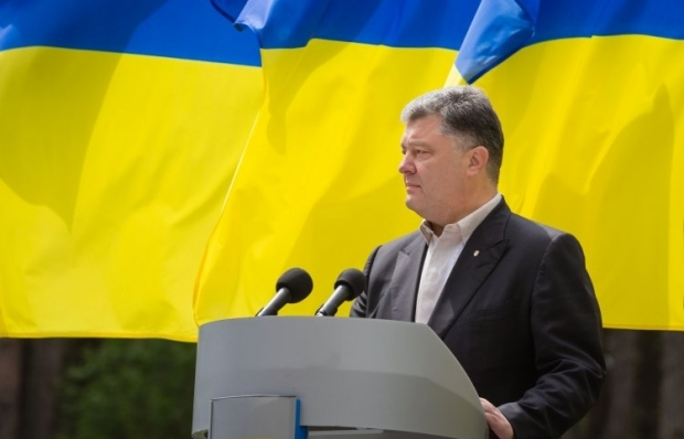 Poroshenko says that the international community supports his Donbas peace plan / Photo from UNIAN