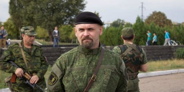 The LPR reports about Ghost leader Mozgovoy's death / Photo from a militant Web site