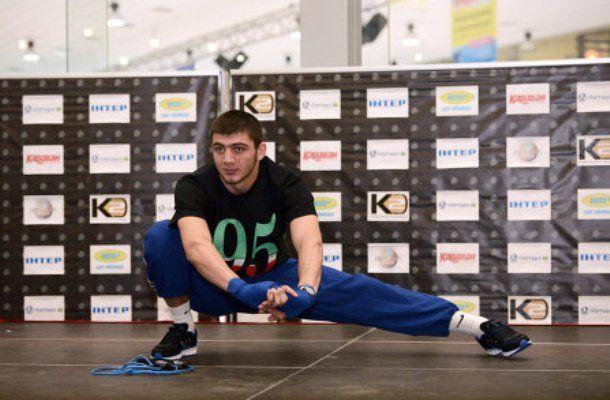 Саламов впервые будет отстаивать титул чемпиона Европы / k2ukraine.com