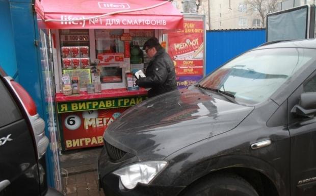 В Києві продовжується демонтаж незаконних МАФів / Фото УНІАН