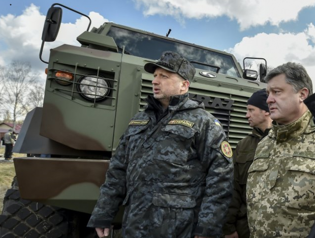 Turchynov says the probability is high that the hostilities in Donbas could escalate into war / Photo from UNIAN