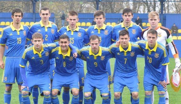 Юношеская сборная Украины (футболисты 1995 года рождения и моложе) / goldtalant.com.ua