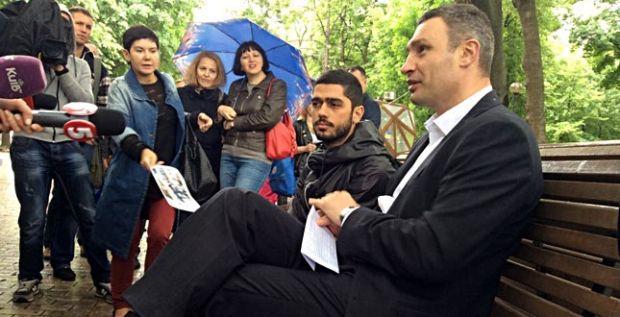Кличко презентував новий проект у парку Шевченка / kievcity.gov.ua