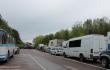 Шахтарі на Західній Україні перекрили міст, вимагаючи виплати зарплат <br> bug.org.ua
