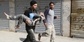 Amnesty International reports use of barrel bombs on civilians in Aleppo
