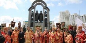 УПЦ начала празднования 1000-летия памяти святых князей Бориса и Глеба многолюдным крестным ходом