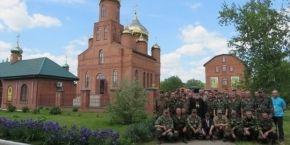 В Аскании-Нова военные молились о мире в Украине (фоторепортаж)