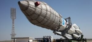 "The fall of Russian rocket ""Proton"""