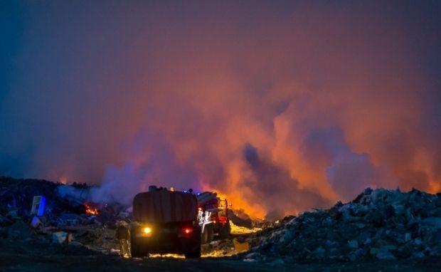 Ядовитый пожар продолжается уже шестой день / meteovesti.ru