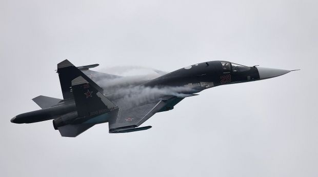 An illustrative image of Su-34 / Photo from Vitaly V. Kuzmin / vitalykuzmin.net