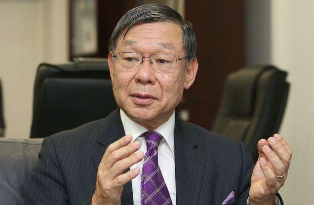 Ambassador Shigeki Sumi /Photo from Den