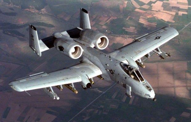 Иллюстративная фотография: американский штурмовик A-10 Thunderbolt II / Senior Airman Greg L. Davis / af.mil