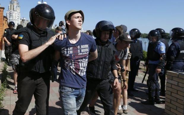 Одному із підозрюваних обрано запобіжний захід у вигляді утримання під вартою / Фото УНИАН