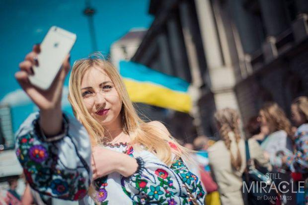 У Лондоні пройшов марш вишиванок / facebook.com/UkrainianEventsLondon