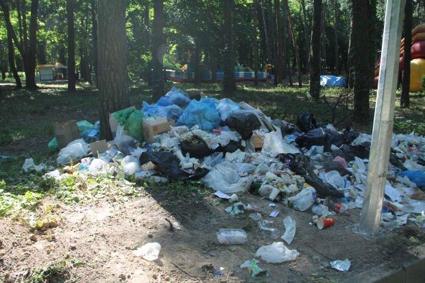 среднестатистический киевлянин в год производит 330-380 кг твердых отходов
