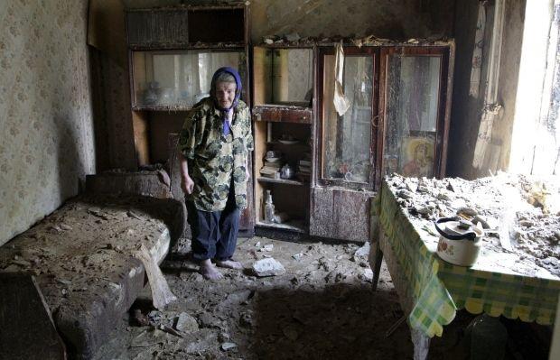В Раде предлагают установить компенсации за поврежденное в результате АТО жилье