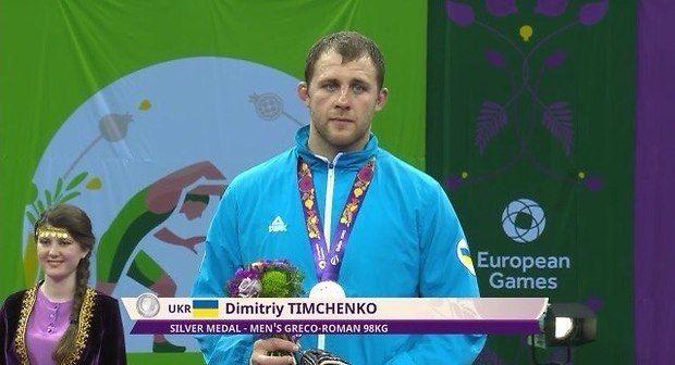 Україна здобула першу медаль на Європейських іграх