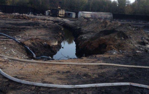 Ознак горіння на території бази не спостерігається / mns.gov.ua