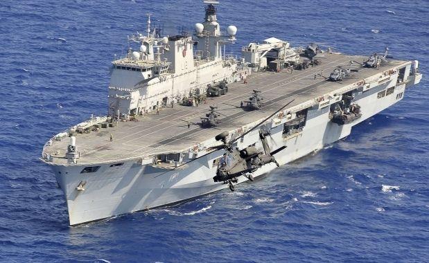 HMS Ocean / wikipedia.org