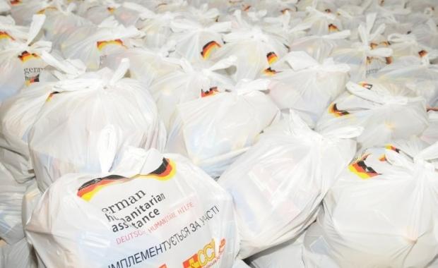 Из Германии и Польши прибыла гуманитарная помощь / Фото: УНИАН