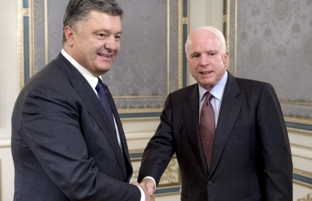 Poroshenko thanks the U.S. for its strong position and support of Ukraine / Photo from UNIAN