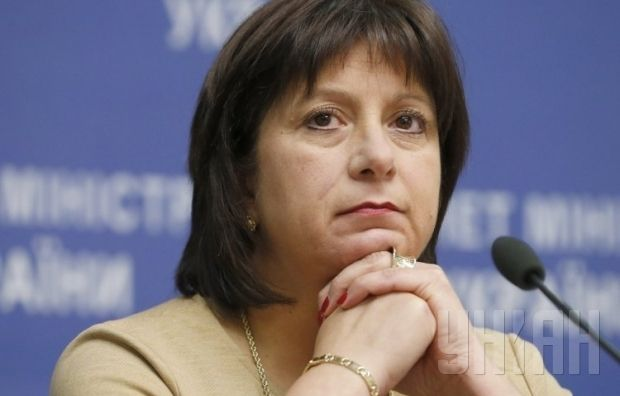 Natalia Jaresko is takinga tough stance in the debt negotiation process / Photo UNIAN