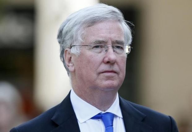 UK Defense Minister Michael Fallon / REUTERS