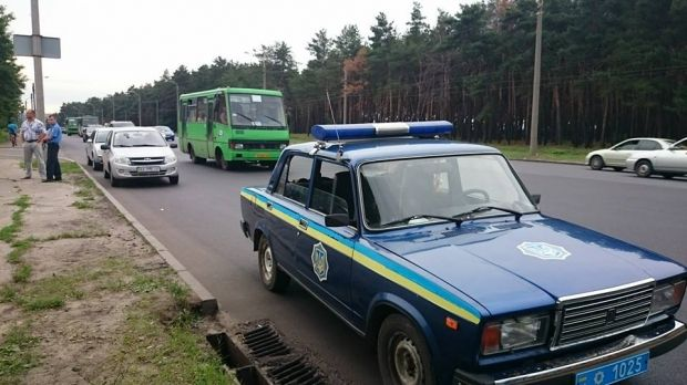 Three mini buses in Kharkiv were attacked with the use of weapons / facebook.com/slava.mavrichev