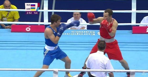 Украинец Ярослав Самофалов выигрывает «бронзу»— Европейские игры