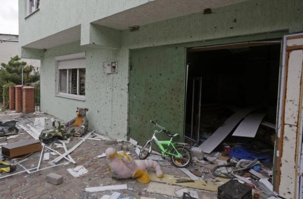 Боевики не прекратили огонь в Широкино