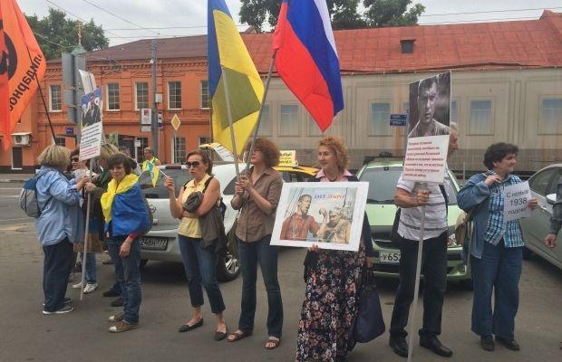 Жители Донецка на митинге потребовали от российских боевиков не использовать их в качестве живого щита, - Лысенко - Цензор.НЕТ 4843