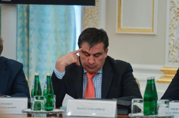 Саакашвили пообщался с комбатом погибшего бойца / УНИАН