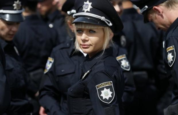 Киевляне поддерживают создание новой полиции / Фото УНИАН