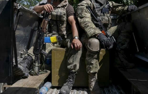 Two Ukrainian soldiers wounded in two-hour fighting in