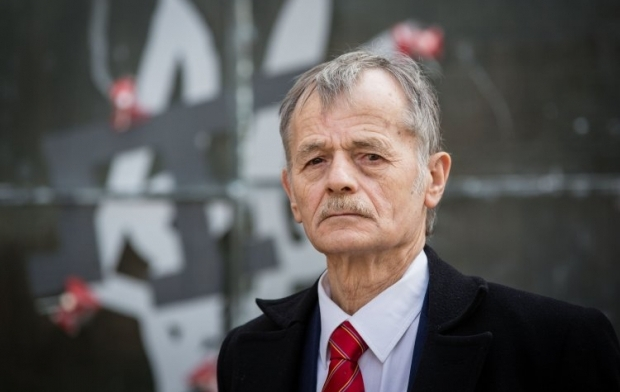 Crimean Tatar community leader Mustafa Dzhemilev / Photo from UNIAN