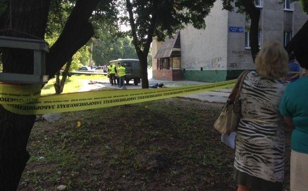 Нападение на инкассаторов в Харькове / mediaport.ua