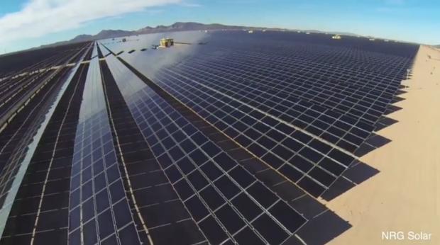 Солнечная станция / Скриншот из видео