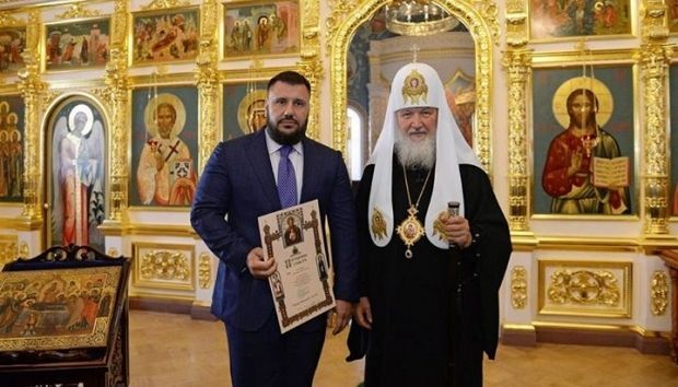 Глава РПЦ встретился с бывшим главным налоговиком Украины / Фото facebook.com