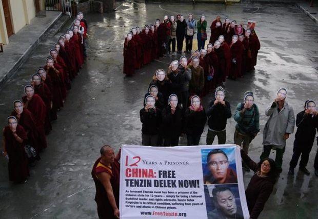 Акція на підтримку Тендзина Делека Рінпоче / studentsforafreetibet.org
